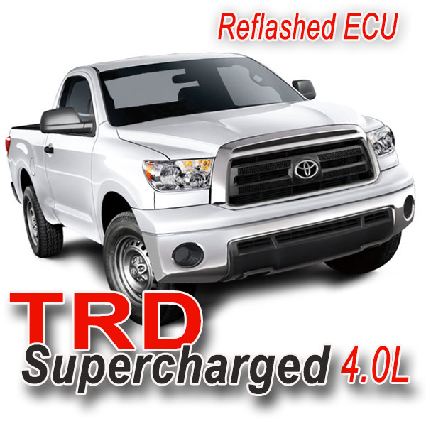 Supercharger Kits For Pontiac 455: '07-'11 Tundra 4.0L, TRD Supercharger (TRD Reflashed ECU